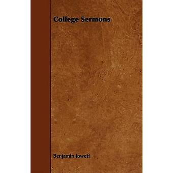 College Sermons by Jowett & Benjamin
