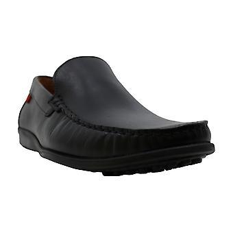 Marc Joseph New York Mens Ford Hamilton Leather Closed Toe Moccasins