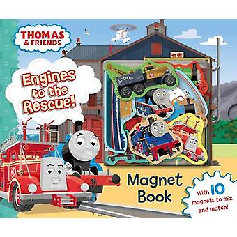 Thomas  Friends Engines to the Rescue Magnet Book