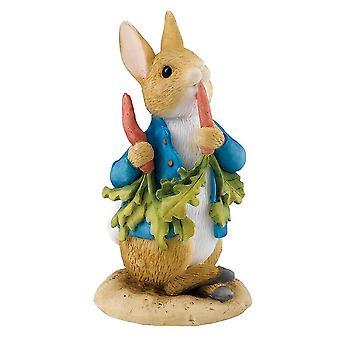 Beatrix Potter Peter Ate Some Radishes Mini Figurine