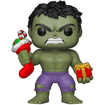 Funko 33984 Marvel Urlaub - Hulk W / Strumpf & Plüsch Sammlerfigur