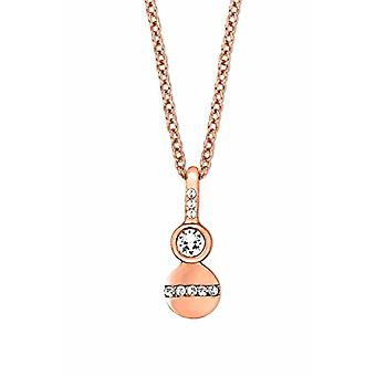 Noelani Necklace with Woman Brass Pendant - 2021392