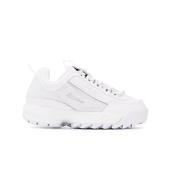 Fila Ezcr008005 Women's White Leather Sneakers