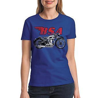 BSA moottoripyörien klassinen brittiläinen kuninkaallinen paidat