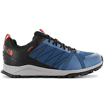 The NORTH FACE Litewave Fastpack II GTX - Gore Tex - Sapatos de caminhada masculinos Azul NFOA3REDGWK Tênis Esportivos
