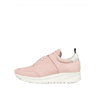 Jim Rickey Women's Could Runner Leather Sneakers