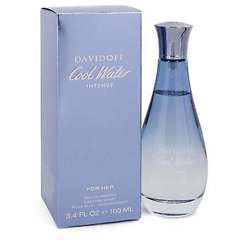 Cool vann intense Eau de Parfum spray av Davidoff 3,4 oz Eau de Parfum spray