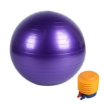फिटनेस बॉल बेल्ट पंप, विस्फोट प्रूफ मोटी योगा गेंद, योग संतुलन और स्थिरता गेंद, फिटनेस व्यायाम और वितरण गेंद
