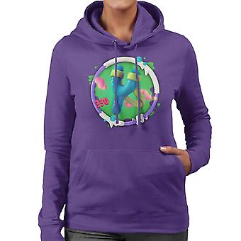 Angry Birds Slingshot 3D Badge Women's Hooded Sweatshirt