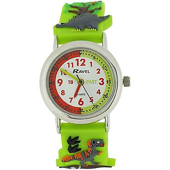 Ravel Funtime Boys 3D Jungle Design Time Teacher Strap Watch R1513.59