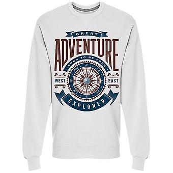 Adventure Explorer Sweatshirt Men's -Image by Shutterstock