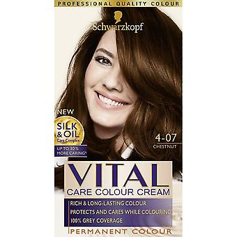 Schwarzkopf Vital Hair Colour - Chestnut 75