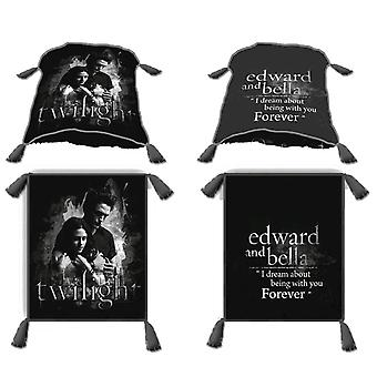 Twilight Decorative Throw Pillow (Edward and Bella)