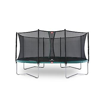 BERG Grand Favorit Regular 520 Trampoline + Safety Net Comfort Green