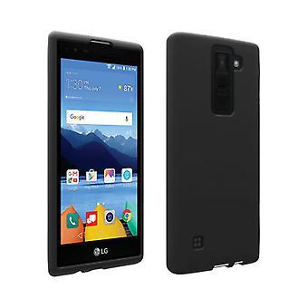 Verizon matta silikoni tapauksessa LG K8 V VS500 - musta