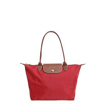 Longchamp 2605089545 Women's Red Nylon Shoulder Bag
