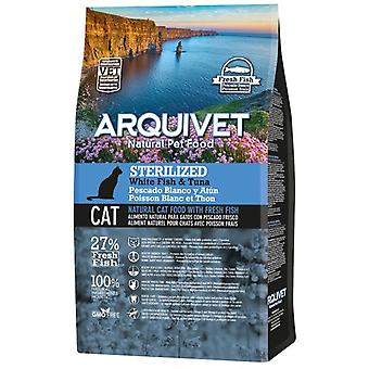 Arquivet Sterilized Cats of White Fish and Tuna (Cats , Cat Food , Dry Food)