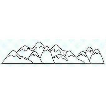 LDRS Creative Mountains Clear Stamps