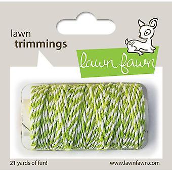 Cordão de Cânhamo Fawn Lime