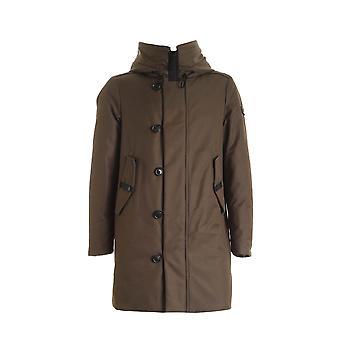 Peuterey Peu332201110733690 Men's Green Cotton Outerwear Veste
