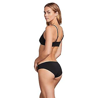 Volcom Women's Plus Size Junior's Simply Seamless Modest Bikini Bottom, Svart...