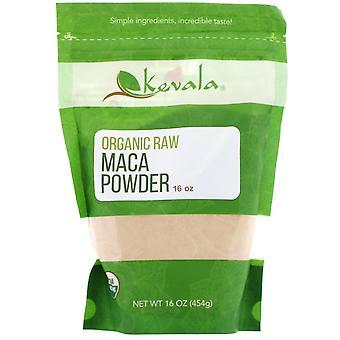Kevala, Organic Raw Maca Powder, 16 oz (454 g)