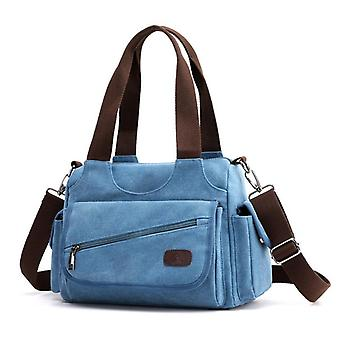 Women's casual canvas messenger bag