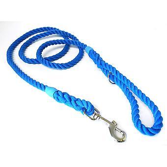 Kjk Ropeworks Clip & Ring Lead - Blue - 12mm x 65cm
