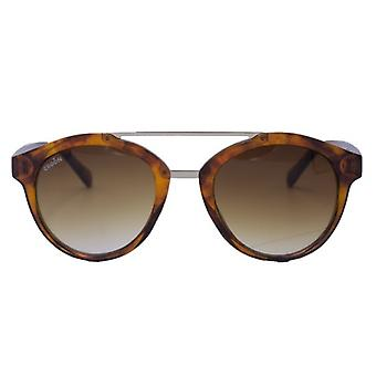 Sunglasses Unisex Skye Havana red-brown