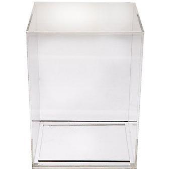 """4"""" Acrylic Pop Protector-crystal Clear Box"""