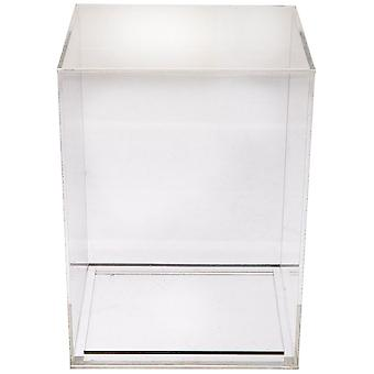 4» Acrylique Pop Protector-cristal Clear Box