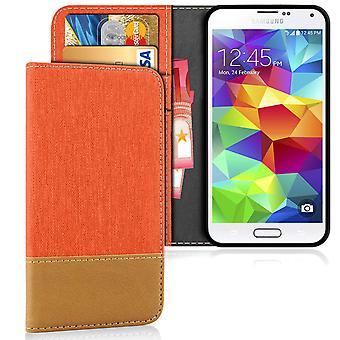 Samsung Galaxy S5 Mobile TPU Protection Phone Mobile Protection Shell Denim Jeans Shockproof