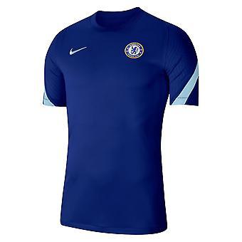 2020-2021 Chelsea Nike Training Shirt (Sininen)