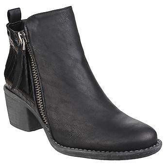 Divaz Women-apos;s Dench Zip Up Ankle Boot 24270-40016
