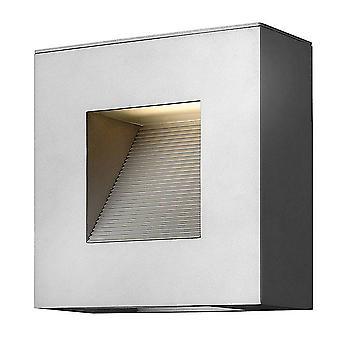 LED 2 valo ulkona seinävalo titaani IP44