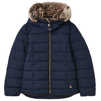 Veste manteau rembourrée isolée Joules Girls Cassington