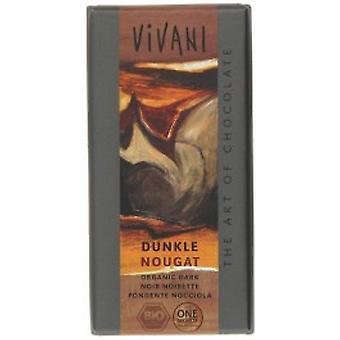 Vivani - Orangic Dark Nougat Chocolate 100gx10
