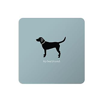 Bailey and Friends Dog Placemat Labrador Blue