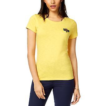 Maison Jules | Embellished Dragonfly T-Shirt