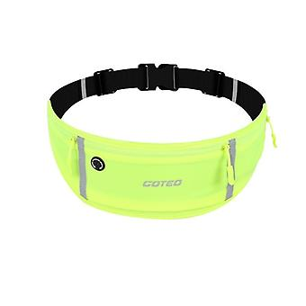 Waterproof Running Sports Waist Bag, Outdoor Cycling Pack With Water Bottle