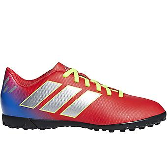 adidas Performance Boys Kids Nemeziz Messi 18.4 Turf Football Boots - Rosso
