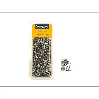 Shaw Challenge Panel Pins 13mm Bright Steel Clam Packed 40220