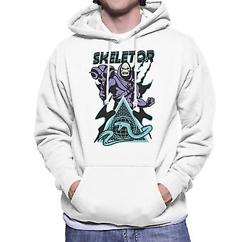 Masters Of The Universe Skeletor Snake Mountain Men's Hooded Sweatshirt