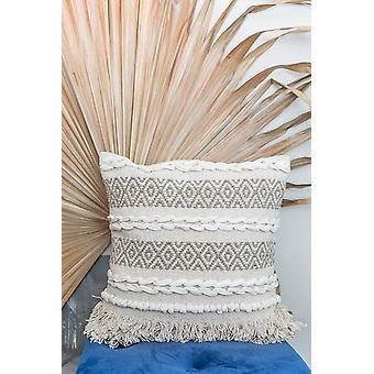 Cubierta de almohada de algodón Rajasthani