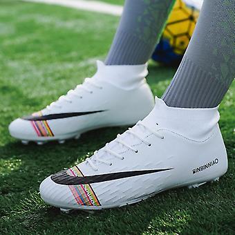 Fußball Stiefel Schuhe Futsal Soccer Cleats Teenager Knöchel-hohe Tops Kinder Indoor