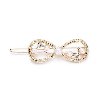 Ładny Perłowy Spinka do włosów, Moda Crystal Barrettes