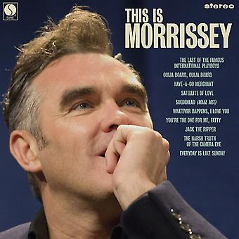 Morrissey - This Is Morrissey [Vinyl] USA import