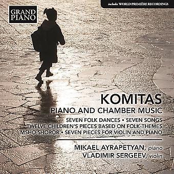 Komitas / Ayrapetyan / Sergeev - Komitas: Piano & Chamber Music [CD] USA import