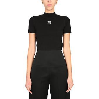 Alexander Wang.t 4kc2191008001 Women's Black Viscose T-shirt