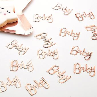 Rose Gold Baby Table Confetti 14g - Twinkle Twinkle - Baby Shower